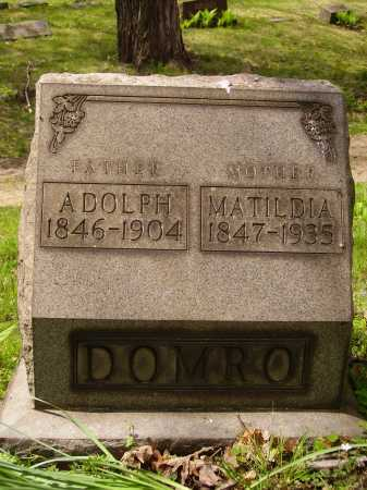 DOMRO, ADOLPH - Stark County, Ohio | ADOLPH DOMRO - Ohio Gravestone Photos