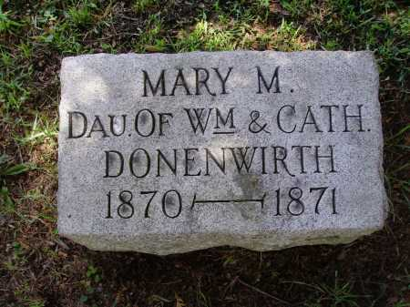 DONENWIRTH, MARY M. - Stark County, Ohio | MARY M. DONENWIRTH - Ohio Gravestone Photos