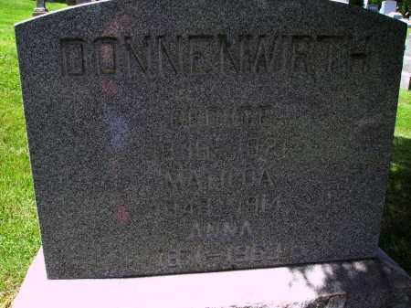 DONNENWIRTH, ANNA - Stark County, Ohio | ANNA DONNENWIRTH - Ohio Gravestone Photos