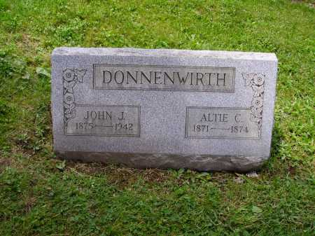 DONNENWIRTH, ALTIE C. - Stark County, Ohio | ALTIE C. DONNENWIRTH - Ohio Gravestone Photos
