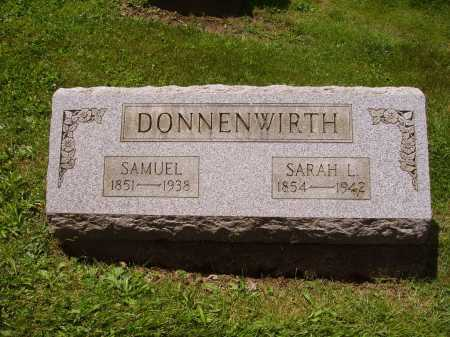 DONNENWIRTH, SARAH L. - Stark County, Ohio | SARAH L. DONNENWIRTH - Ohio Gravestone Photos