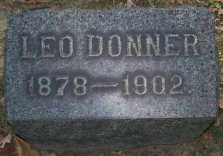 DONNER, LEO - Stark County, Ohio | LEO DONNER - Ohio Gravestone Photos