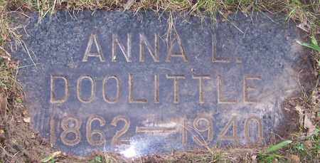 DOOLITTLE, ANNA L. - Stark County, Ohio | ANNA L. DOOLITTLE - Ohio Gravestone Photos
