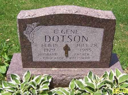 DOTSON, C.GENE - Stark County, Ohio | C.GENE DOTSON - Ohio Gravestone Photos