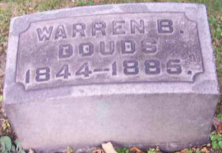 DOUDS, WARREN B. - Stark County, Ohio | WARREN B. DOUDS - Ohio Gravestone Photos