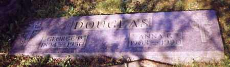 DOUGLAS, GEORGE D. - Stark County, Ohio | GEORGE D. DOUGLAS - Ohio Gravestone Photos