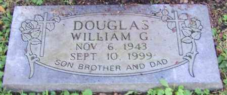 DOUGLAS, WILLIAM G. - Stark County, Ohio | WILLIAM G. DOUGLAS - Ohio Gravestone Photos