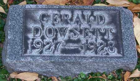 DOWSETT, GERALD - Stark County, Ohio | GERALD DOWSETT - Ohio Gravestone Photos