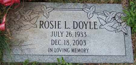 DOYLE, ROSIE L. - Stark County, Ohio | ROSIE L. DOYLE - Ohio Gravestone Photos