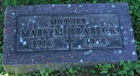 DRABECK, MARY M. - Stark County, Ohio | MARY M. DRABECK - Ohio Gravestone Photos