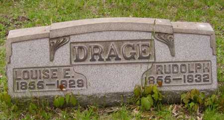 DRAGE, RUDOLPH - Stark County, Ohio | RUDOLPH DRAGE - Ohio Gravestone Photos