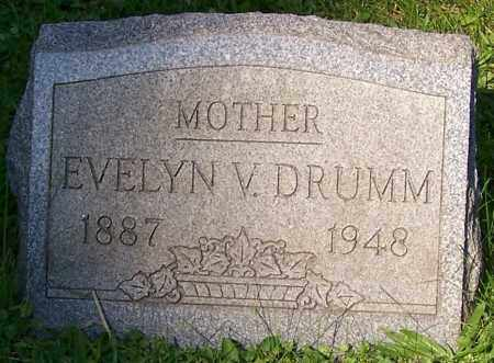DRUMM, EVELYN V. - Stark County, Ohio | EVELYN V. DRUMM - Ohio Gravestone Photos