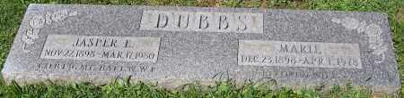 DUBBS, JASPER E. - Stark County, Ohio | JASPER E. DUBBS - Ohio Gravestone Photos