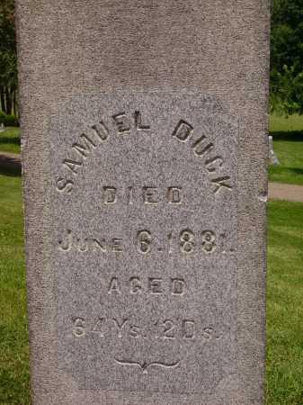 DUCK, SAMUEL - CLOSEVIEW - Stark County, Ohio   SAMUEL - CLOSEVIEW DUCK - Ohio Gravestone Photos