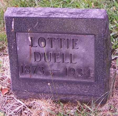 DUELL, LOTTIE - Stark County, Ohio | LOTTIE DUELL - Ohio Gravestone Photos