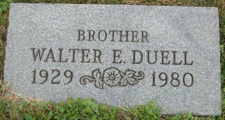 DUELL, WALTER E. - Stark County, Ohio | WALTER E. DUELL - Ohio Gravestone Photos