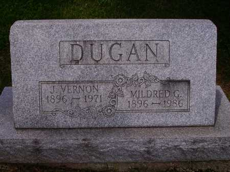 DUGAN, J. VERNON - Stark County, Ohio | J. VERNON DUGAN - Ohio Gravestone Photos