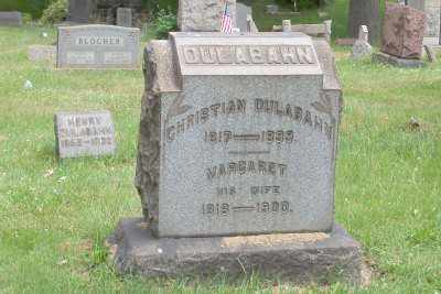 DULABAHN, CHRISTIAN - Stark County, Ohio | CHRISTIAN DULABAHN - Ohio Gravestone Photos