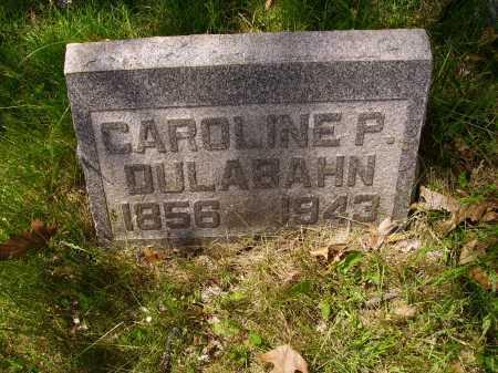 SENN DULABAHN, CAROLINE PHOEBE - Stark County, Ohio | CAROLINE PHOEBE SENN DULABAHN - Ohio Gravestone Photos
