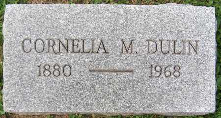 DULIN, CORNELIA M. - Stark County, Ohio | CORNELIA M. DULIN - Ohio Gravestone Photos