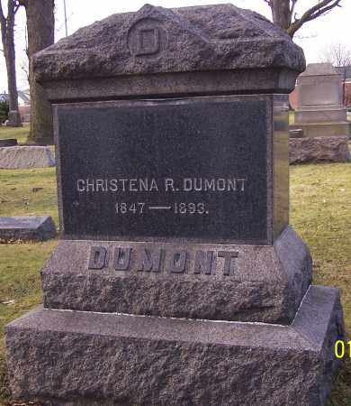 DUMONT, CHRISTENA R. - Stark County, Ohio | CHRISTENA R. DUMONT - Ohio Gravestone Photos