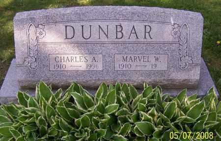 DUNBAR, MARVEL W. - Stark County, Ohio | MARVEL W. DUNBAR - Ohio Gravestone Photos