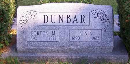 DUNBAR, GORDON M. - Stark County, Ohio | GORDON M. DUNBAR - Ohio Gravestone Photos