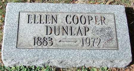 DUNLAP, ELLEN COOPER - Stark County, Ohio | ELLEN COOPER DUNLAP - Ohio Gravestone Photos