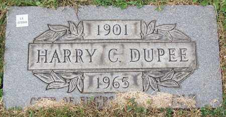 DUPEE, HARRY C. - Stark County, Ohio | HARRY C. DUPEE - Ohio Gravestone Photos