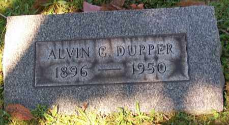 DUPPER, ALVIN C. - Stark County, Ohio | ALVIN C. DUPPER - Ohio Gravestone Photos