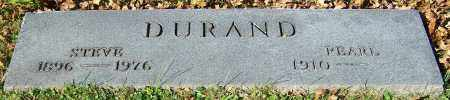 DURAND, PEARL - Stark County, Ohio | PEARL DURAND - Ohio Gravestone Photos
