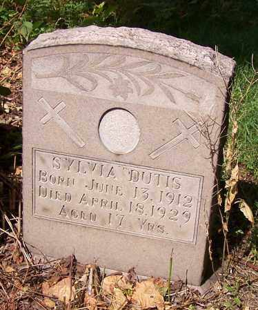 DUTIS, SYLVIA - Stark County, Ohio | SYLVIA DUTIS - Ohio Gravestone Photos