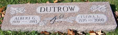 DUTROW, FLORA L. - Stark County, Ohio | FLORA L. DUTROW - Ohio Gravestone Photos
