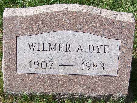 DYE, WILMER A. - Stark County, Ohio | WILMER A. DYE - Ohio Gravestone Photos