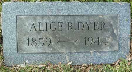 DYER, ALICE R. - Stark County, Ohio | ALICE R. DYER - Ohio Gravestone Photos