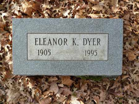 DYER, ELEANOR K. - Stark County, Ohio | ELEANOR K. DYER - Ohio Gravestone Photos