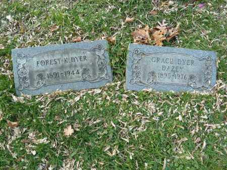DAZEY, GRACE - Stark County, Ohio | GRACE DAZEY - Ohio Gravestone Photos