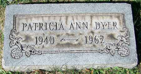 DYER, PATRICIA ANN - Stark County, Ohio | PATRICIA ANN DYER - Ohio Gravestone Photos