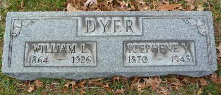 DYER, ICEPHENE V - Stark County, Ohio | ICEPHENE V DYER - Ohio Gravestone Photos