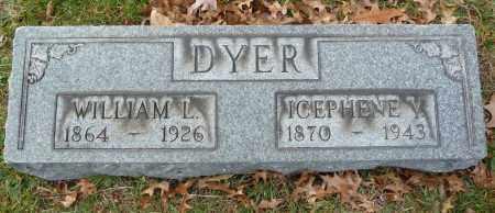 DYER, WILLIAM L - Stark County, Ohio | WILLIAM L DYER - Ohio Gravestone Photos