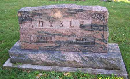 DYSLE, MARY - Stark County, Ohio | MARY DYSLE - Ohio Gravestone Photos
