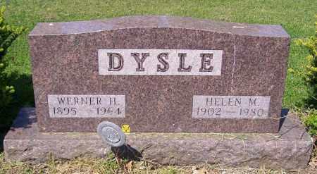 DYSLE, WERNER H. - Stark County, Ohio | WERNER H. DYSLE - Ohio Gravestone Photos