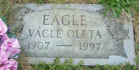 EAGLE, VACLE OLETA - Stark County, Ohio | VACLE OLETA EAGLE - Ohio Gravestone Photos