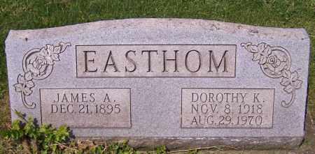 EASTHOM, JAMES A. - Stark County, Ohio | JAMES A. EASTHOM - Ohio Gravestone Photos