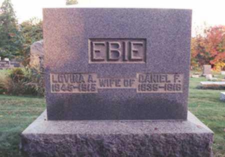 EBIE, LOVINA A. - Stark County, Ohio | LOVINA A. EBIE - Ohio Gravestone Photos