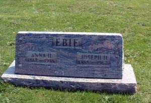 EBIE, MARY ANNA - Stark County, Ohio | MARY ANNA EBIE - Ohio Gravestone Photos