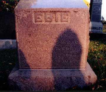 HOSSLER EBIE, MARGARET - Stark County, Ohio | MARGARET HOSSLER EBIE - Ohio Gravestone Photos