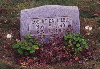 EBIE, ROBERT DALE - Stark County, Ohio | ROBERT DALE EBIE - Ohio Gravestone Photos