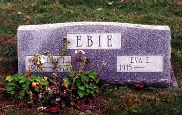 EBIE, WILLIAM FREDERICK - Stark County, Ohio | WILLIAM FREDERICK EBIE - Ohio Gravestone Photos