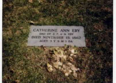 EBY, CATHERINE ANN - Stark County, Ohio | CATHERINE ANN EBY - Ohio Gravestone Photos